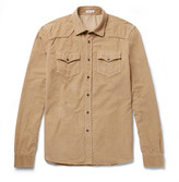 Tomas Maier Cotton-corduroy Shirt - Sand