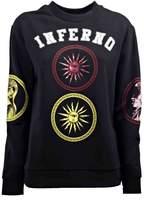 Fausto Puglisi Inferno Embroidered Sweatshirt