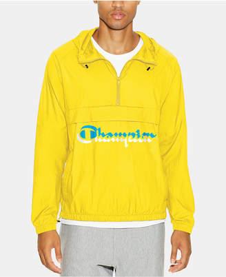 Champion Men C-Life Half-Zip Hooded Jacket