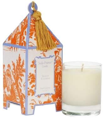 Seda France Sicilian Tangerine Classic Toile Mini Pagoda
