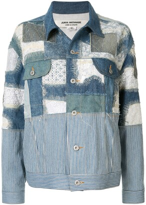 Junya Watanabe Patchwork Denim Jacket
