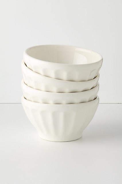 Anthropologie Latte Bowl Set