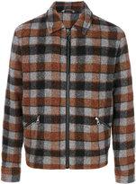Lanvin checked jacket - men - Cotton/Viscose/Wool/Alpaca - 48