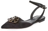Dolce & Gabbana Gemmed Flat Sandal