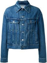 Ambush - embellished back denim jacket - men - Cotton - 2