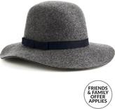 Christy CHRISTYS' Lola Handmade Wool Felt Hat- Charcoal