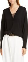 Brunello Cucinelli Monili Neck Cashmere & Silk Sweater