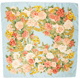 Chanel Floral Printed Scarf