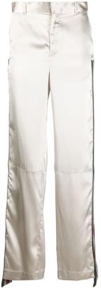 Ambush Side-Stripe Metallic Trousers