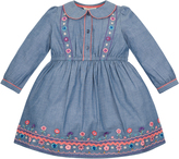 Monsoon Baby Anna Louise Chambray Dress