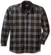 Pendleton Men's Tall Size Long-Sleeve Lodge Shirt