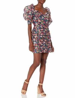 C/Meo Women's and Ever More Puff Sleeve Mini Dress