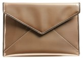 Rebecca Minkoff Leo Mirror Metallic Envelope Clutch - Metallic