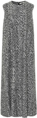 The Row Adda wool-blend midi dress