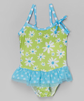 Flap Happy Daisies Skirted One-Piece - Infant