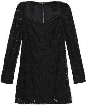 Dolce & Gabbana Guipure Lace Mini Dress