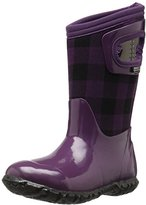 Bogs Kids' North Hampton B. Plaid Winter Snow Boot