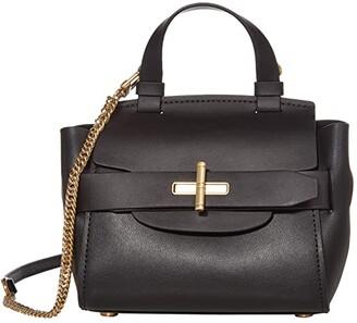 ZAC Zac Posen Brigette Belted Mini Crossbody - Solid (Black) Handbags
