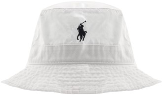 Ralph Lauren Bucket Hat White