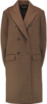 Michael Kors Chesterfield houndstooth wool cape