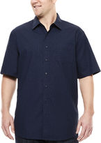 Haggar Short-Sleeve Woven Shirt - Big & Tall