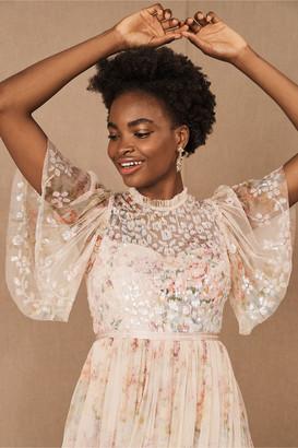Needle & Thread Floral Diamond Bodice Midi Dress