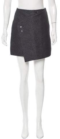 Balenciaga Jacquard Mini Skirt w/ Tags