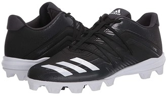 adidas Afterburner 6 MD (Core Black/Footwear White/Carbon) Men's Cleated Shoes