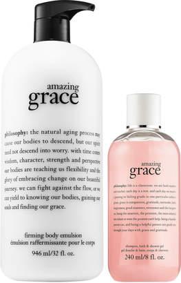 philosophy Amazing Grace Firming Body Emulsion & Shower Gel Duo