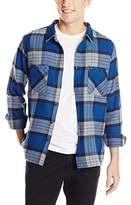 Brixton Men's Milton Long Sleeve Flannel Shirt