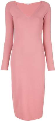 Stella McCartney V-neck midi dress