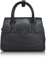 Versace Palazzo Empire Black Leather Mini Handbag