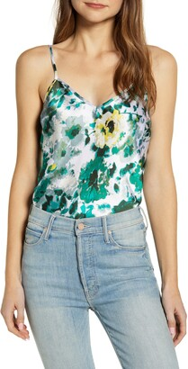 Lucky Brand Natalie Floral Print Camisole