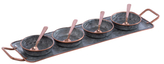 Shiraleah Quinton Condiment Set (9 PC)
