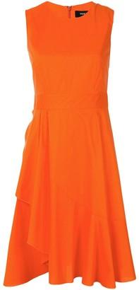 Paule Ka Ruffled Dress