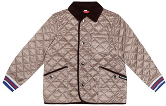 BURBERRY KIDS Culford quilted jacket