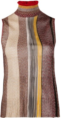 Missoni Striped Print Knit Top