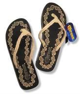 Bioworld Ladies Corona Beer Flower Rope Strap Flip Flops Sandals
