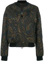 Etro paisley bomber jacket