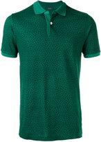 Zanone floral polo shirt