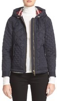 Burberry Women's Angleton Quilted Hooded Jacket