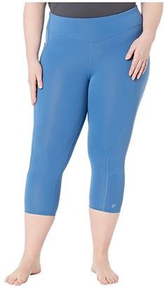 SkirtSports Skirt Sports Plus Size Pocketopia Capris (Deep Blue) Women's Casual Pants
