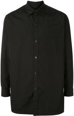 Yohji Yamamoto Long Cotton Shirt