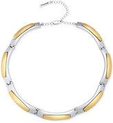 T Tahari Two-Tone Collar Necklace