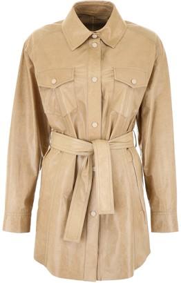 Drome Leather Saharian Jacket