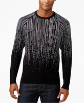 INC International Concepts Men's Jacquard Star Fall Sweater, Only at Macy's