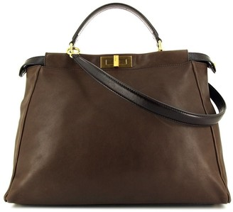 Fendi Pre Owned large Peekaboo tote