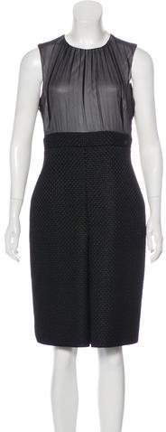 Chanel Silk Fantasy Tweed Dress