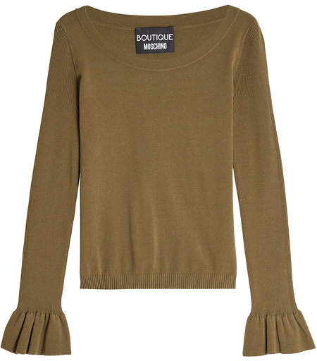 Moschino Pullover with Statement Cuffs