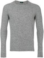 Zanone crew neck jumper - men - Virgin Wool - 48